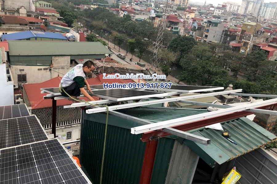 Lắp đặt hệ thống pin năng lượng, điện mặt trời uy tín