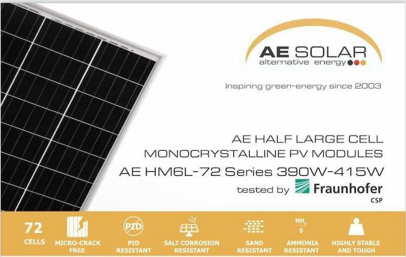 Pin mặt trời AE Solar 400W