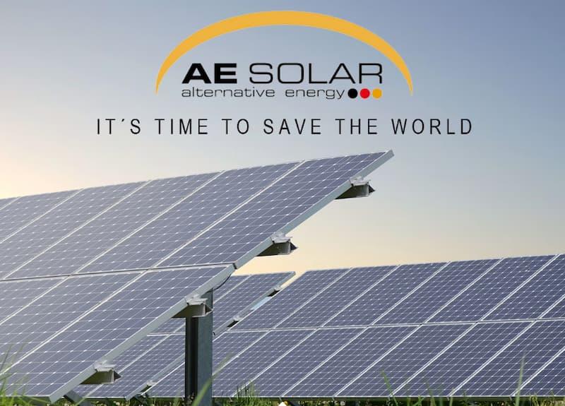 Pin năng lượng mặt trời AE Solar