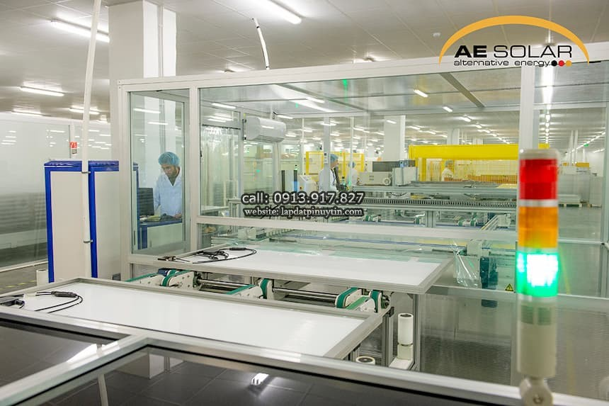 Tấm pin AE Solar AE_HM6L_72_430-450W