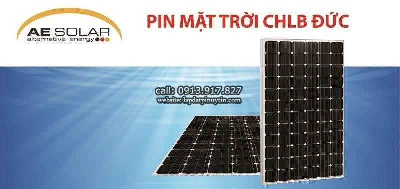 Tấm pin AE Solar 450w của thương hiệu Đức AE Solar có gì đặc sắc?